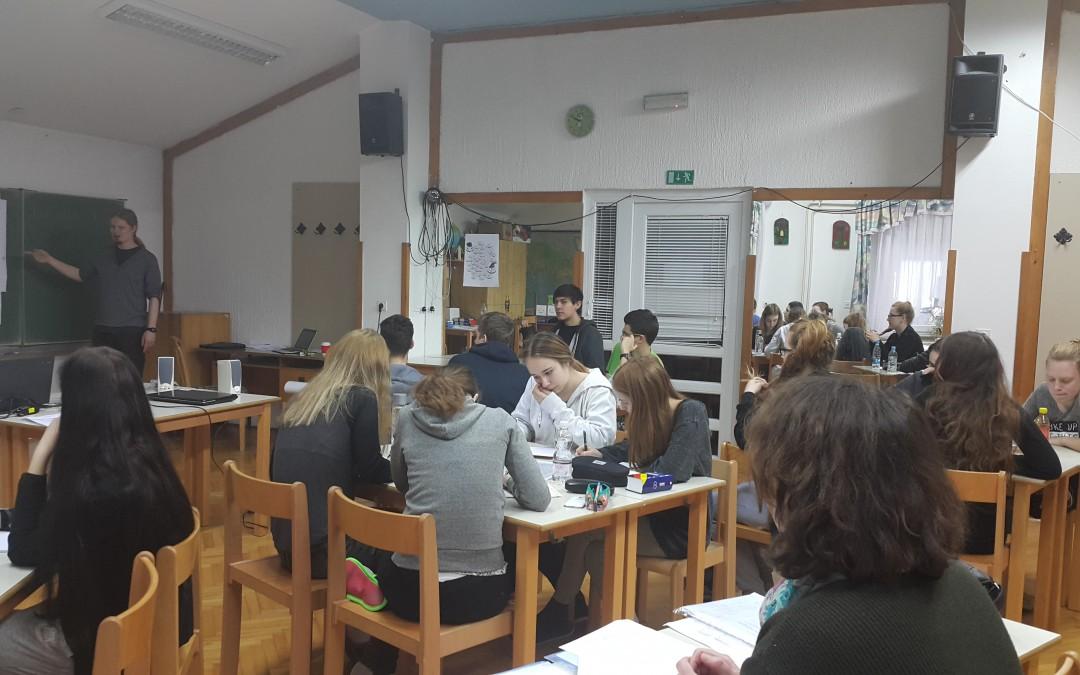 Priprave na Nemško jezikovno diplomo II v Kočevju