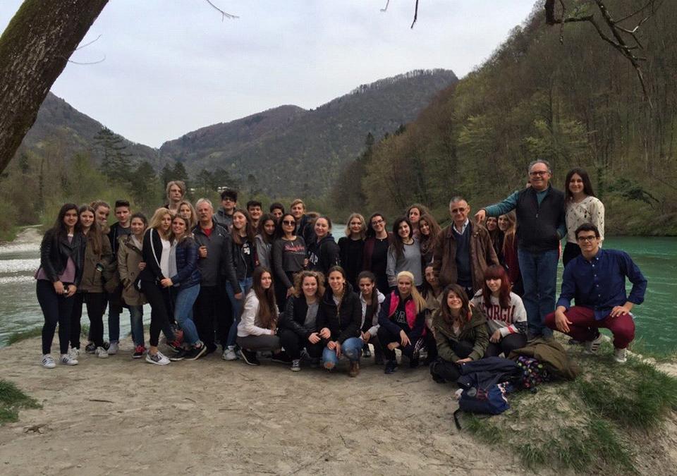 Španski dijaki iz Córdobe na obisku v okviru mednarodne izmenjave