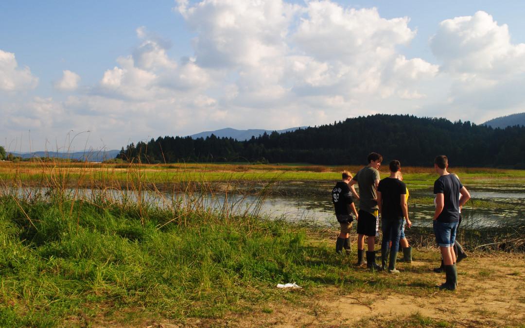 Raziskovali smo ekosisteme v Rakovem Škocjanu in na Cerkniškem jezeru