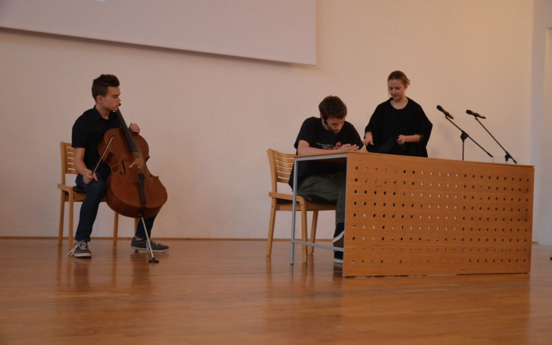 Nastopili smo na Unescovem recitalu v Škofji Loki