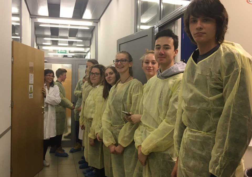 Obisk Nacionalnega inštituta za biologijo