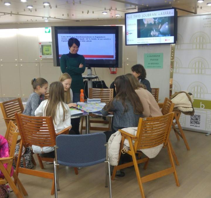 Nastop naših dijakov na Unesco prireditvi v Cankarjevem domu
