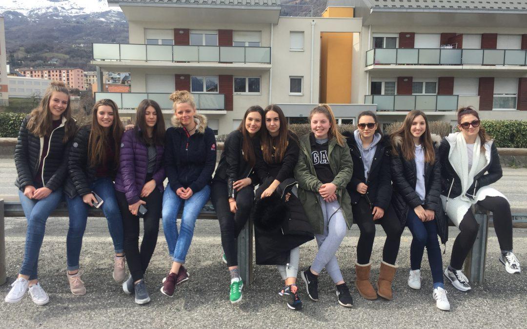 Vtisi z izmenjave s francosko šolo iz Saint-Jean de Maurienne (12.3-18.3.)