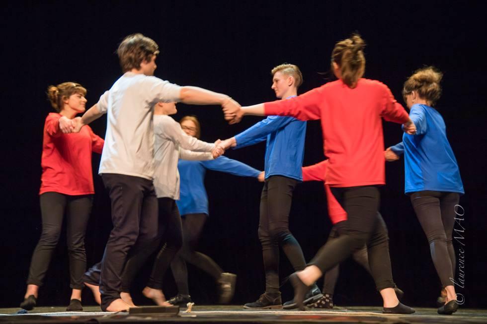 Gledališka predstava francoskega dramskega krožka GJP v Saint-Maloju