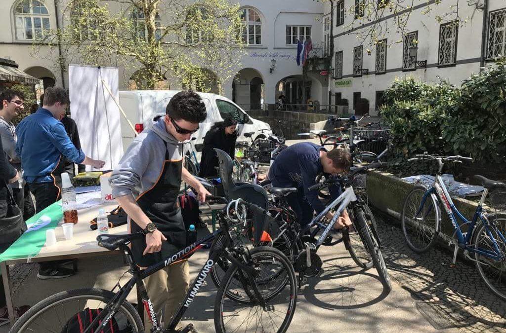 Brezplačen servis koles