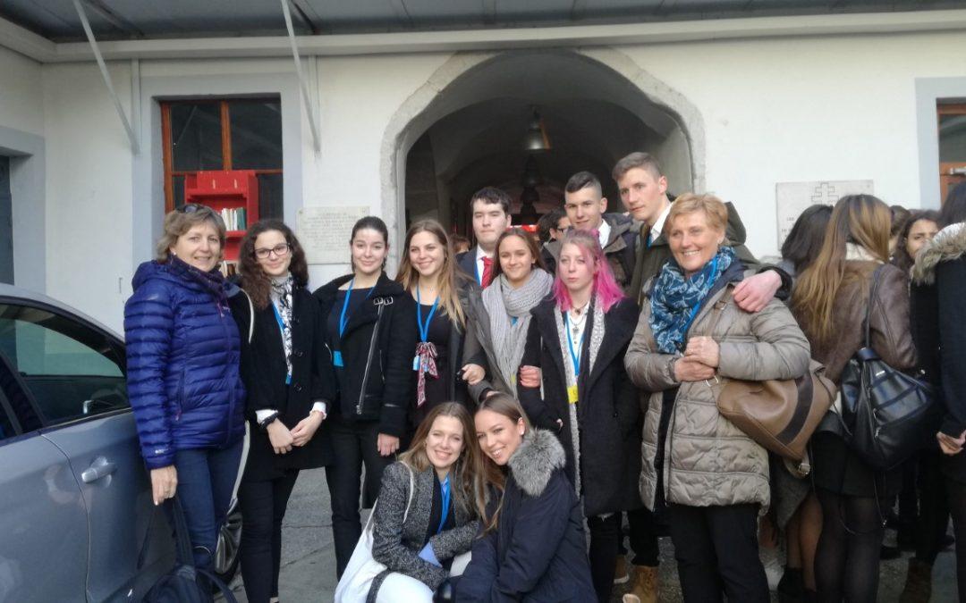 Ekipa Erasmus+ GJP v St. Claudu uspešno zastopa Slovenijo