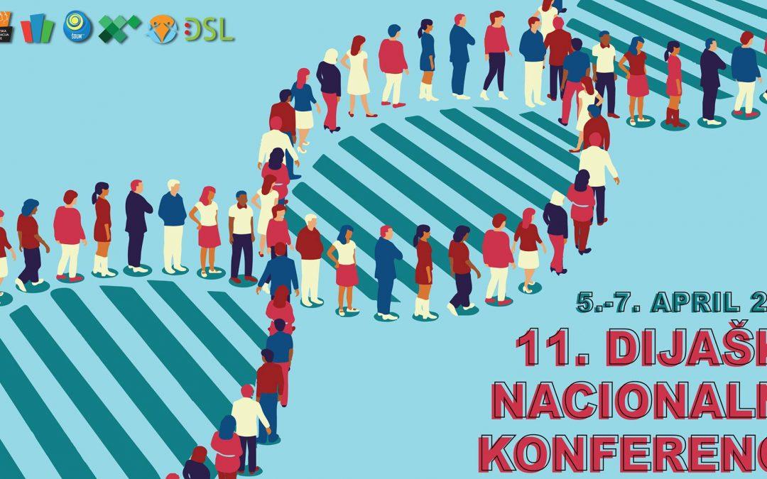 Vabilo za udeležbo na 11. Dijaški nacionalni konferenci