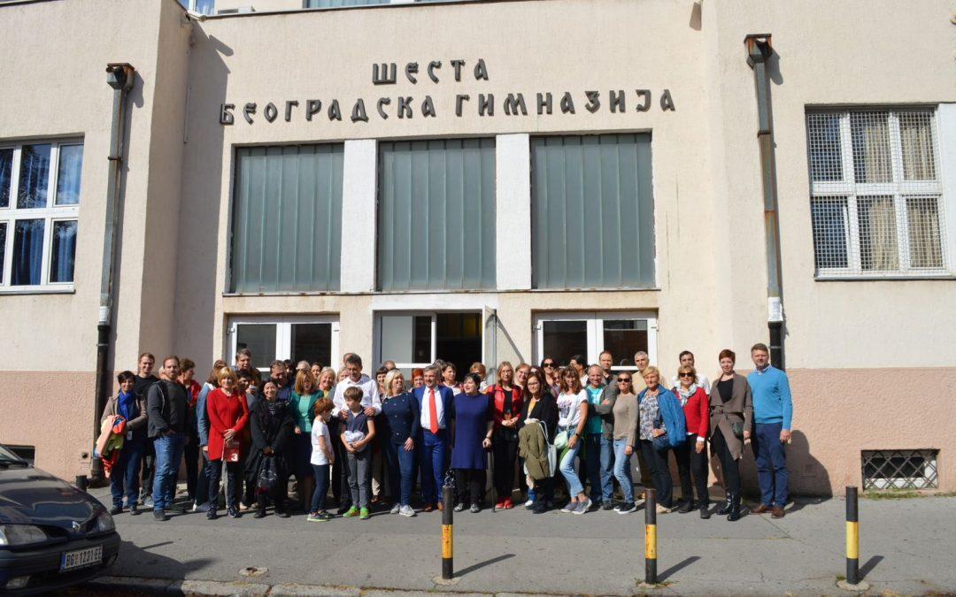 Obiskali smo Šesto beograjsko gimnazijo