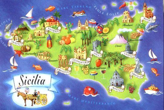 Na ekskurzijo po Južni Italiji in Siciliji