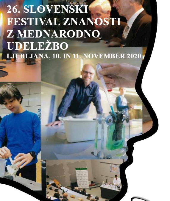 26. slovenski festival znanosti