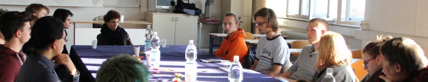 Okrogla miza filozofov 4. letnika na Plečnikovih dnevih