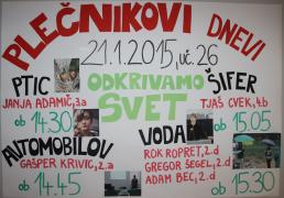 Vabilo na Plečnikove dneve 2015
