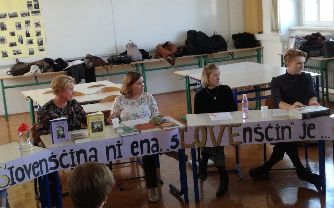 Okrogla miza o slovenščini ob evropskem dnevu jezikov