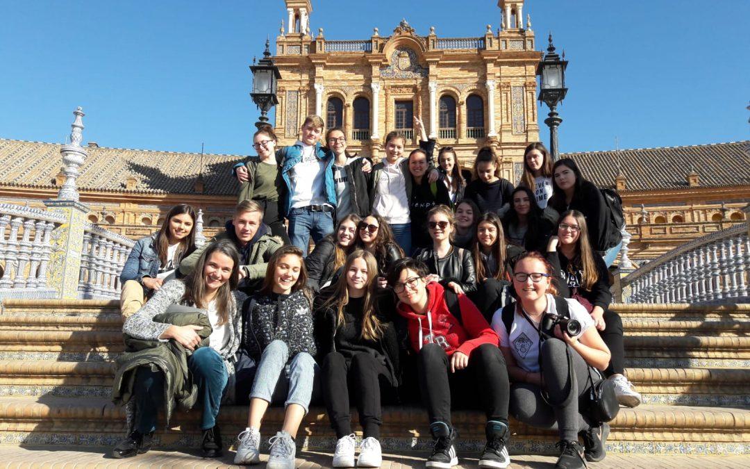 Vtisi z izmenjave s špansko šolo