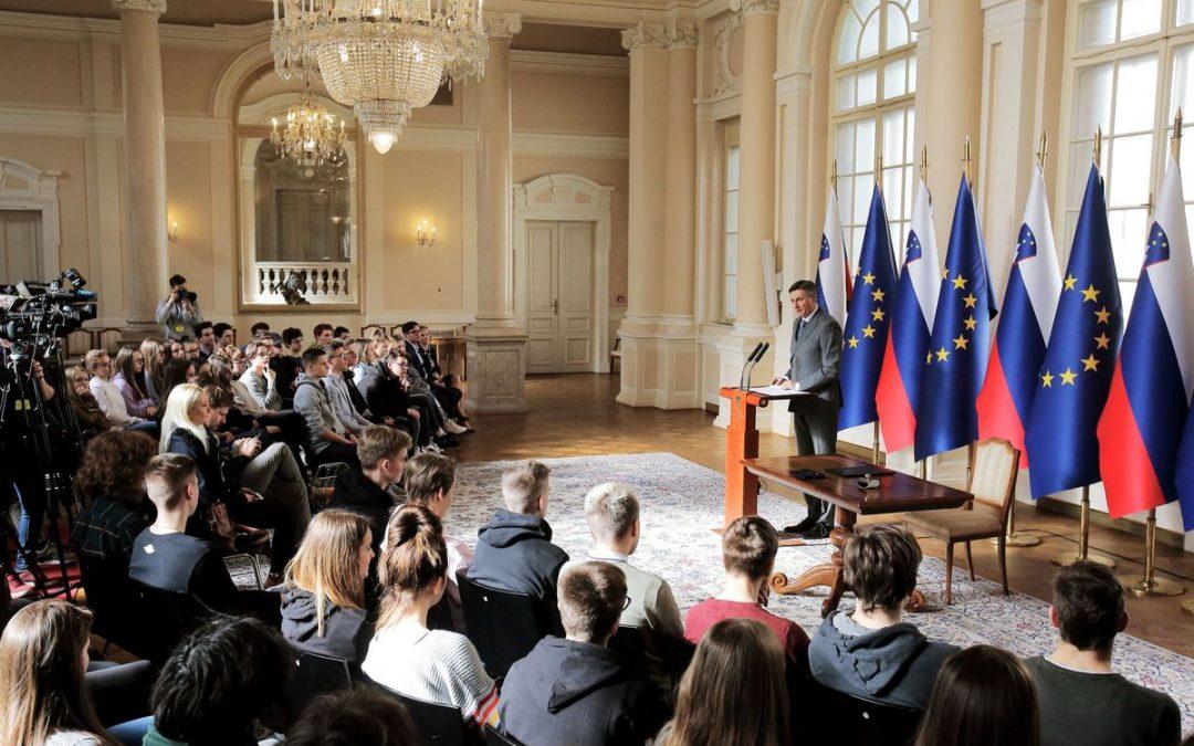 Obisk Predsedniške palače v času  OIV