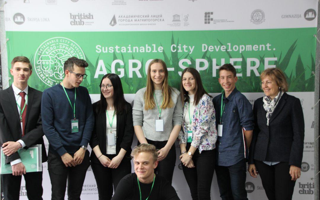 Projektno srečanje UNESCO ASP šol: Agrosphere v Magnitogorskem V Rusiji; (24.–30. 4. 2019)
