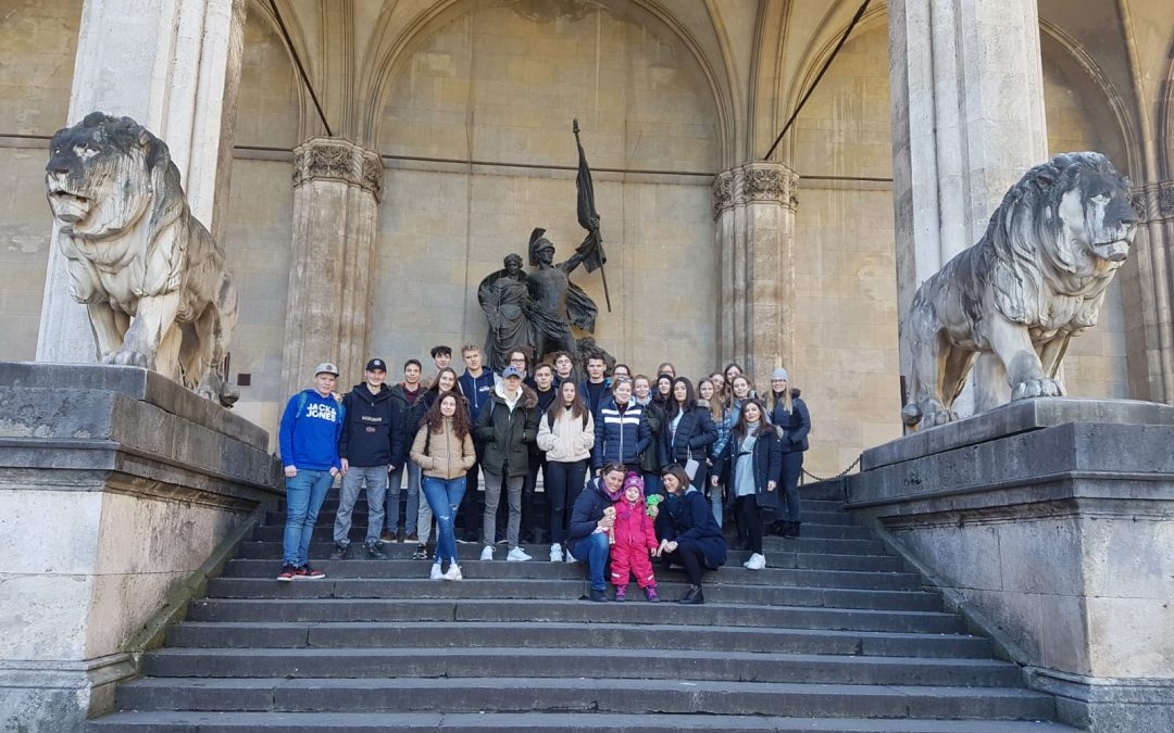 Izmenjava z nemško šolo v Marquarsteinu