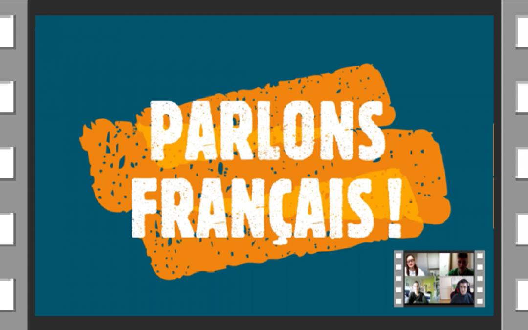 »Govorimo francosko!« – prispevki dijakov v slikah in videu